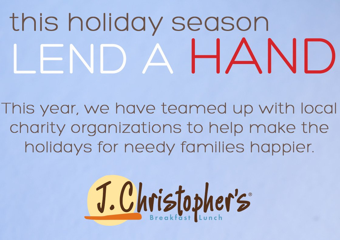 This Holiday, Adopt a Charity!